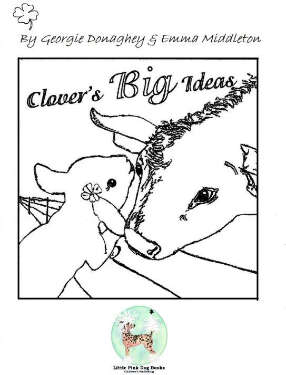 Clover's Colouring In sheet