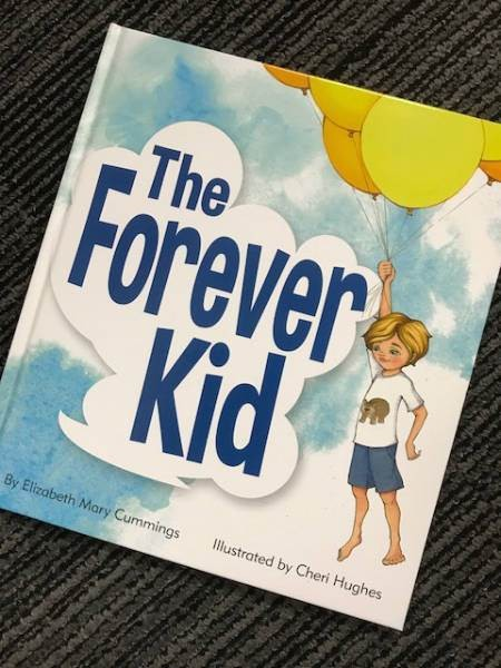 The Forever Kid by Elizabeth Mary Cummings reviewed by Georgie Donaghey.