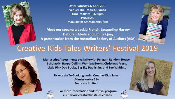 Creative Kids Tales Writers' Festival 2019